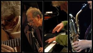 Philippe Laval, Etienne Rolin, François Rossé et Marie-Bernadette Charrier.